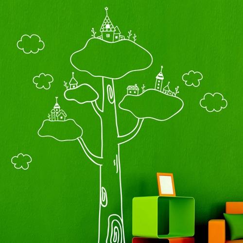 ij026-나무 위에 집