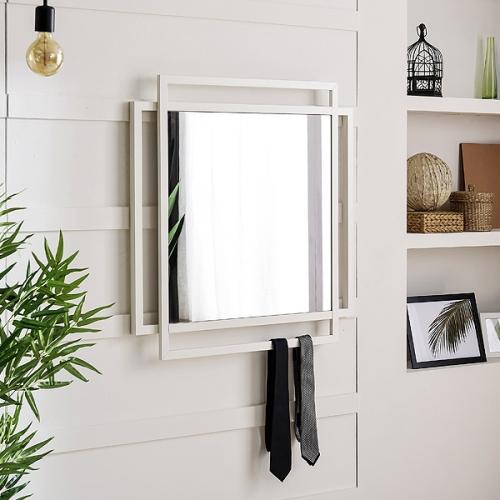 스틸 벽거울 철제사각거울 화장대거울 철재콘솔거울