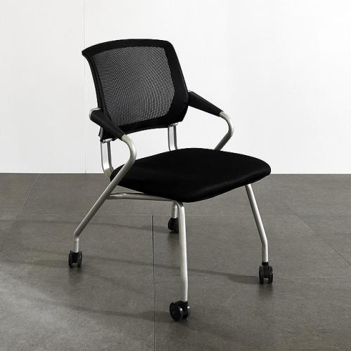 스틸 포그니 체어A 사무실 인테리어 이동식 의자