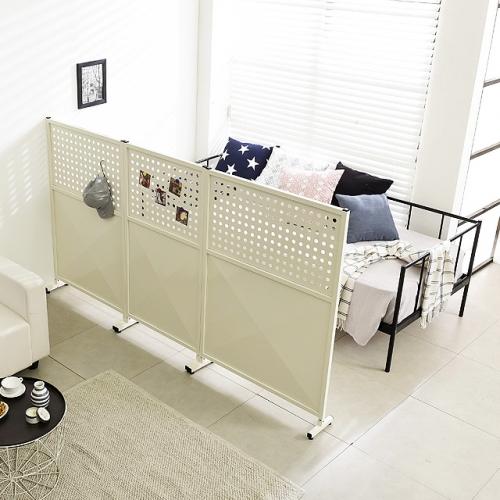 공간 철제타공 인테리어가림판 철제파티션 가리개 책상칸막이 (DEAL095)