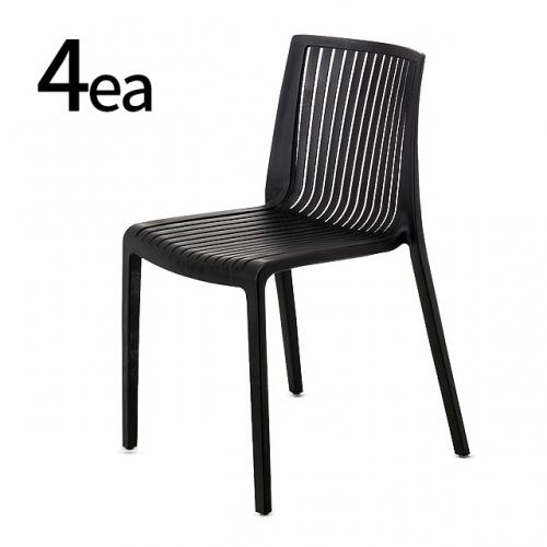 FS02 디자인의자 4개사무실의자 식탁의자