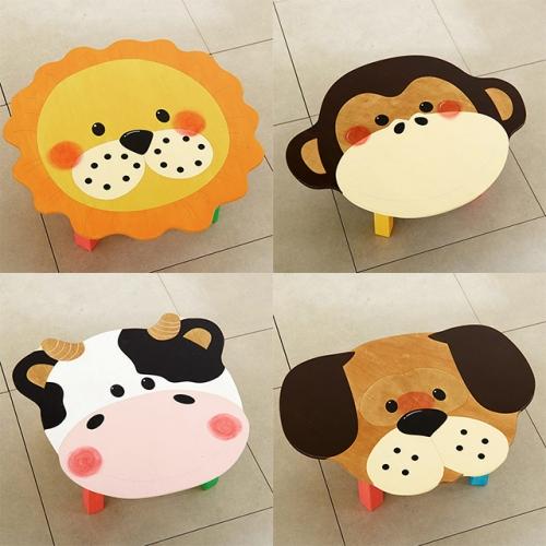 동물책상 시리즈 원목 유아동 책상