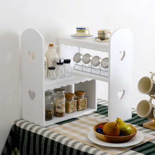 길이조절3단주방선반장 식탁선반 공간활용선반장(MD012)