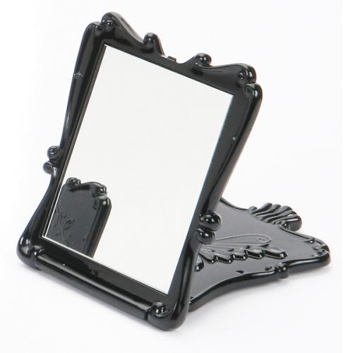 나비 사각 미니 거울