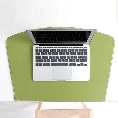 아리아라 데스크 패드 팬형 올리브 deskpad
