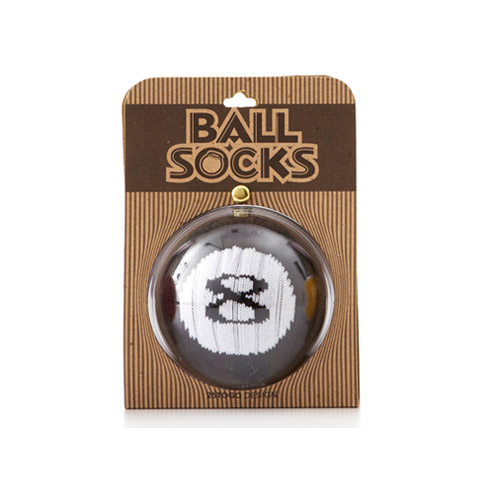 25TOGO BALL SOCKS 포켓볼 #8 스포츠 디자인 양말