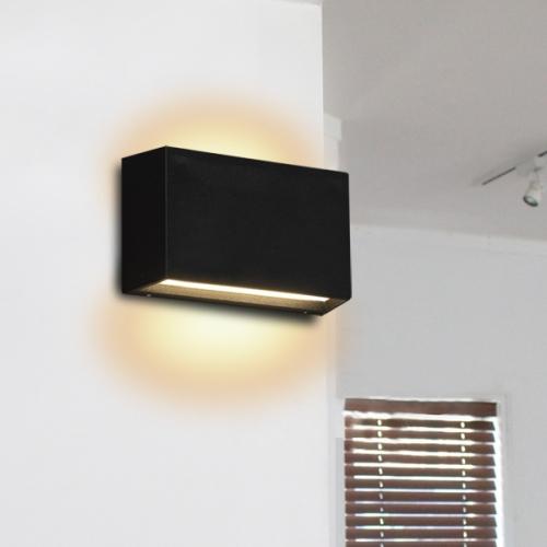 잭라인2등벽등 (LED내장,방수등) (화이트,블랙)