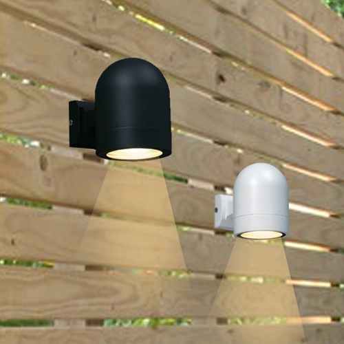 폴드 벽등 (블랙,화이트) (LED전구포함)