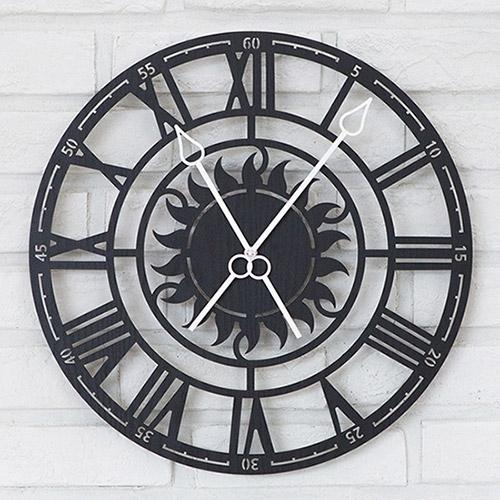 태양의 시간 무소음벽시계