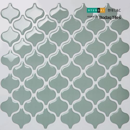 [현대L&C]손쉽게 붙이는 보닥타일 다마스크 제이드