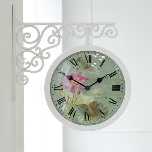 빅토리아 로투스 양면시계