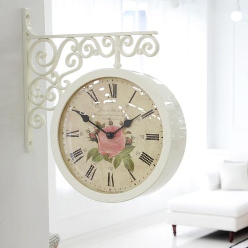 더 로즈 양면시계 (2color)