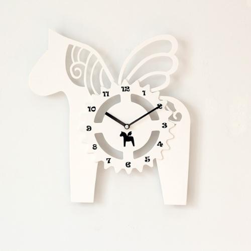 플라잉 목마 시계 (2color)