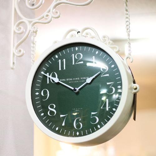 [무소음]마이 로망 양면시계 (6type)