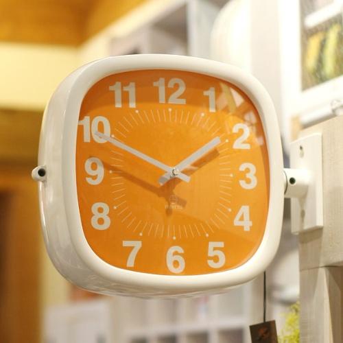 파스텔 양면시계 (5color)