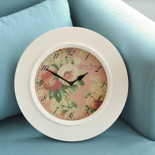 플로라 가든시계(화이트)