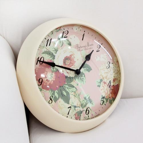 플로라 라운드시계(3Type)