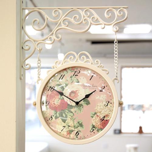 [무소음]마이 로망 플로라 양면시계