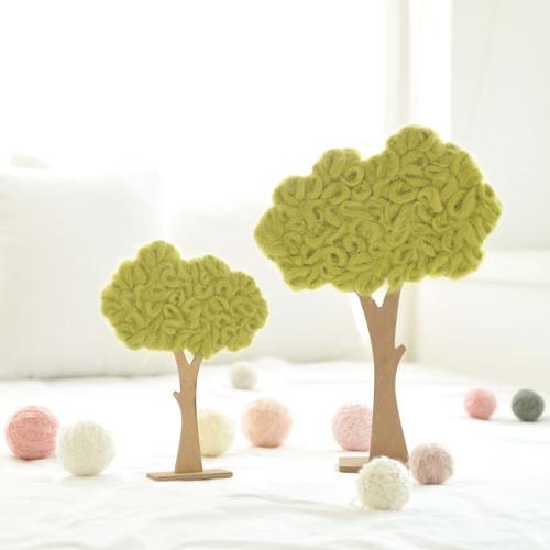 하늘언덕 초록나무(2size)