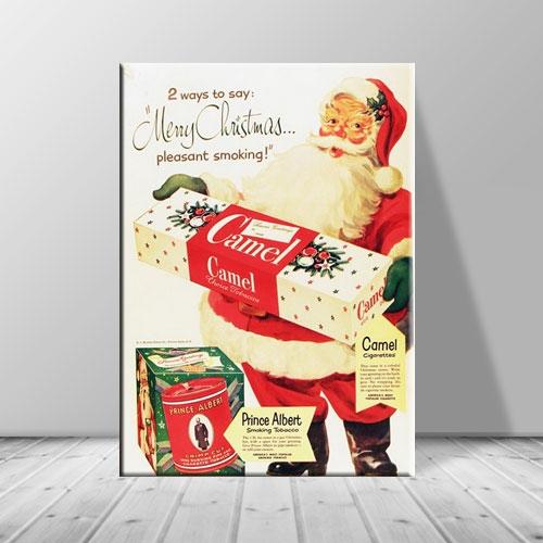 크리스마스 캔버스아트 선물든 산타 ch-123