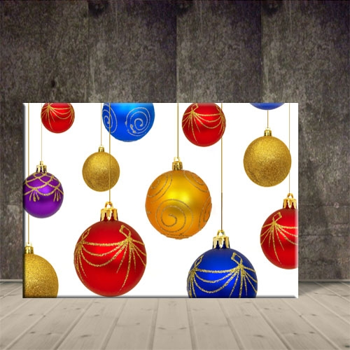 크리스마스 액자 산타모빌장식 포스터3 ch-142