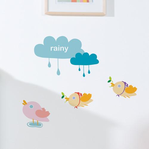 [itstics-Sesame pig] 비오는날에는