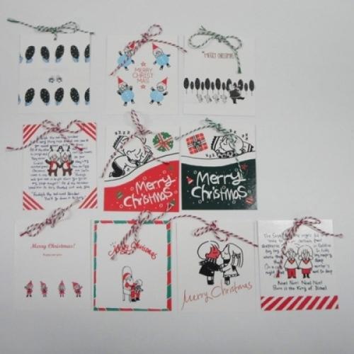[GOMGOM] 메리 크리스마스 카드 5P