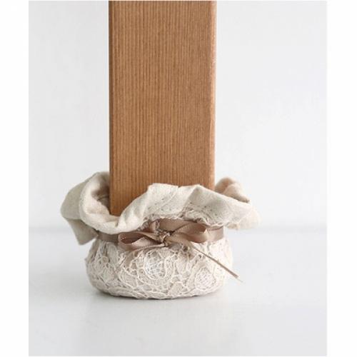 [콩지] 프린세스 레이스 의자발커버