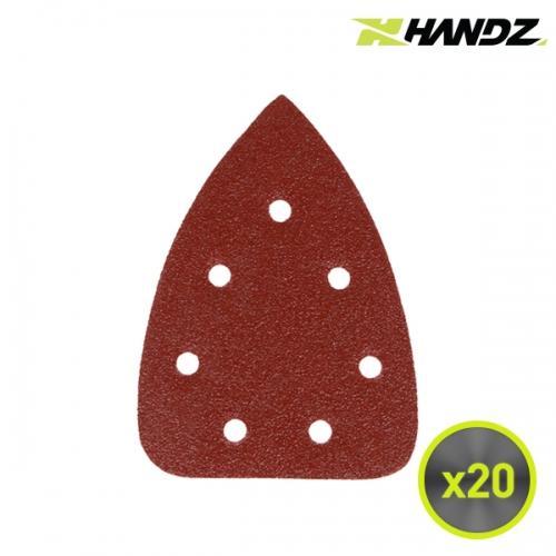 HANDZ 핸즈 충전샌더 샌딩페이퍼 20pcs