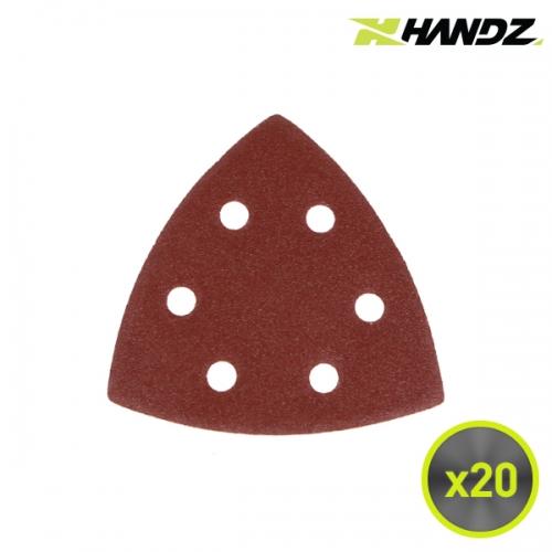 HANDZ 핸즈 멀티커터 샌딩페이퍼 20P