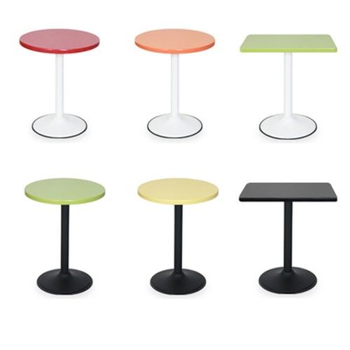 멜라민 칼라 테이블