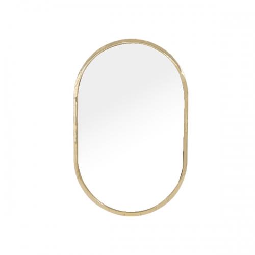 [어반테고] 타원형 거울 / 골드