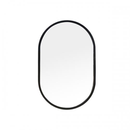 [어반테고] 타원형 거울 / 블랙