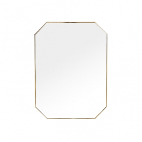 [어반테고] 메탈 팔각 거울 / 골드