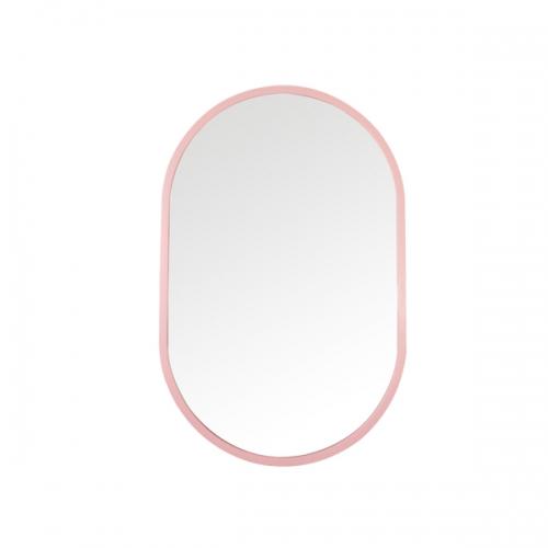 [어반테고] 타원형 거울  / 핑크