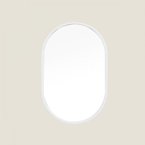 [어반테고] 타원형 거울  / 화이트