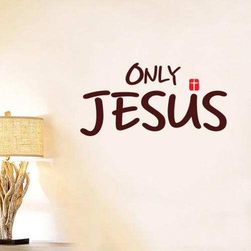 [리빙말씀스티커]Only Jesus-LWS