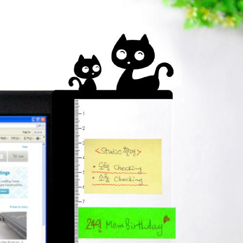 [모니터 멀티보드]애니윙(고양이)