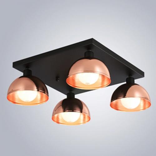 헤미스피어 4등- 핑크골드 (LED겸용 국내산 정품)