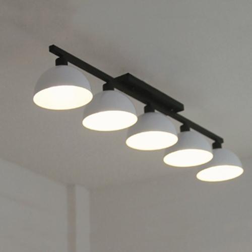 헤미스피어 5등- 화이트 (LED겸용 국내산 정품)