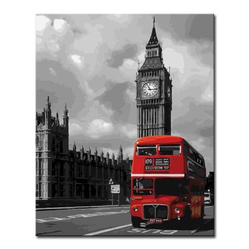 DIY 명화그리기 _ [L94] 런던버스