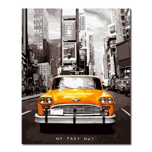 DIY 명화그리기 _ [L96] 뉴욕택시