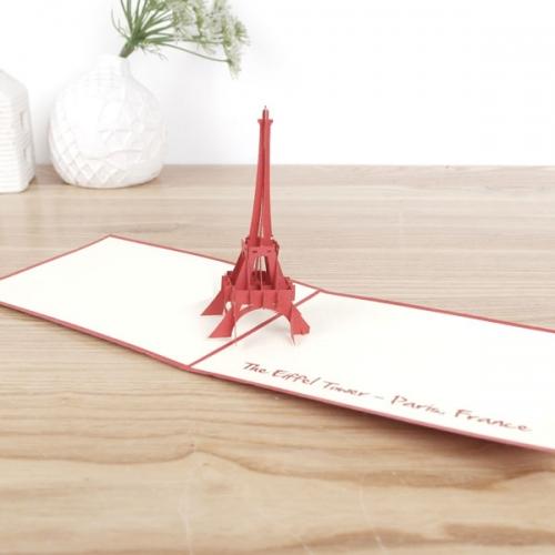 입체팝업카드 에펠탑(소)