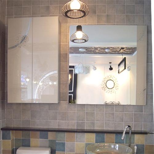 은하수 화이트 욕실거울