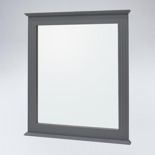뷰티2 원목 거울(그레이)