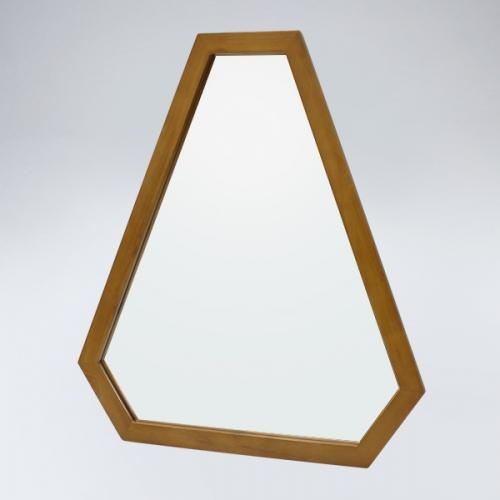 트라이앵글 원목 거울(하임엔틱)