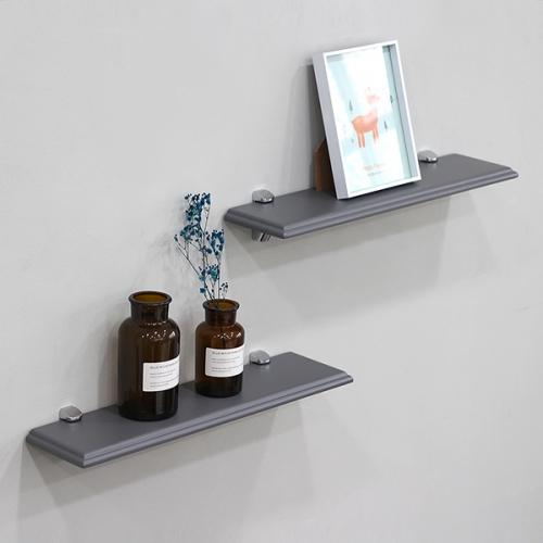 원목 욕실일자선반(완벽방수처리)