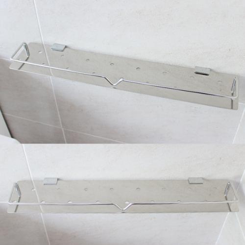 스텐 욕실일자선반(60cm)