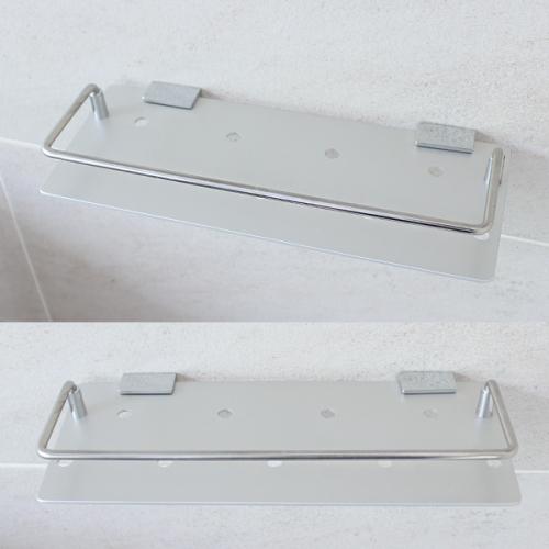 알루미늄 욕실일자선반(30cm)