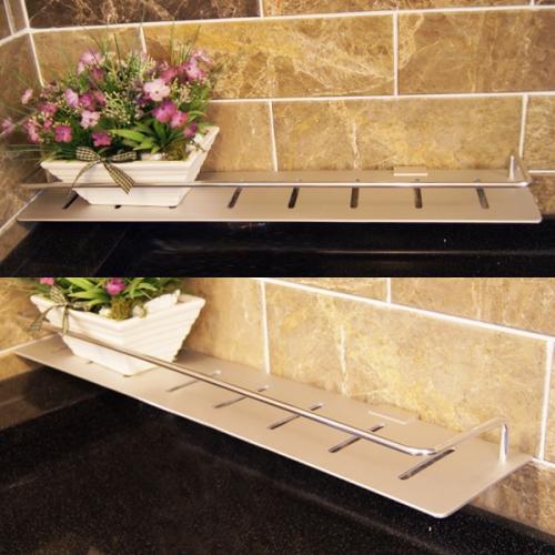알루미늄 욕실일자선반(국산)